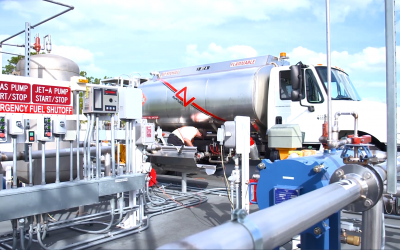 Fuel Transfers Between Fuel Storage Systems and Refueler Trucks