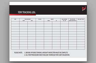 Tow Tracking Log